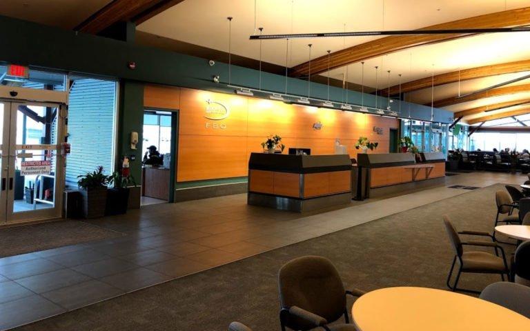 Boundary Bay Airport Lobby